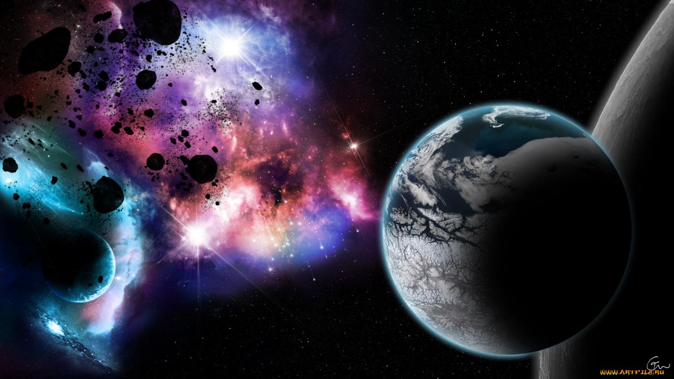 Обои частичка космоса картинки на рабочий стол на тему Космос - скачать загрузить