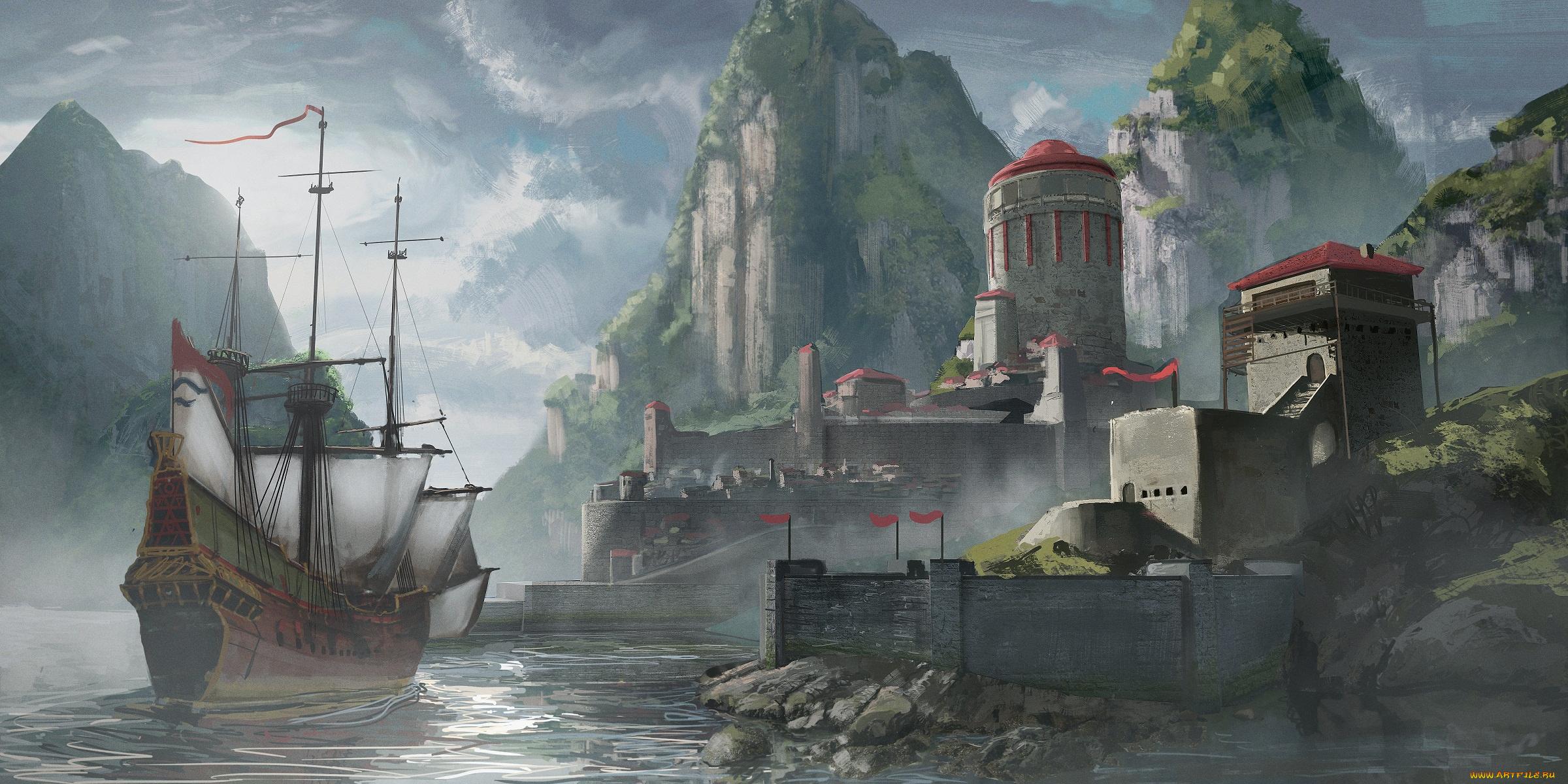 Картинки портов фэнтези