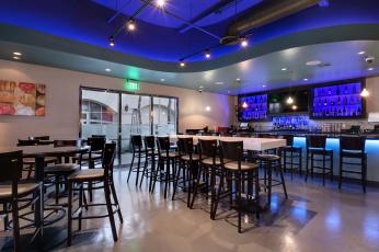 Картинка интерьер кафе +рестораны +отели стиль подсветка мебель дизайн