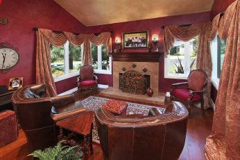 обоя интерьер, камины, design, дизайн, bedroom, furniture, style, стиль, мебель, спальня