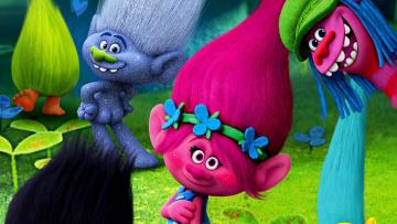обоя мультфильмы, trolls, тролли, забавные, мультик, мордочки, персонажи