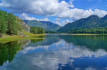 Картинка природа реки озера водохранилище
