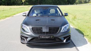 обоя mansory mercedes-benz s63 amg sedan black edition 2015, автомобили, mercedes-benz, mansory, s63, amg, sedan, black, edition, 2015