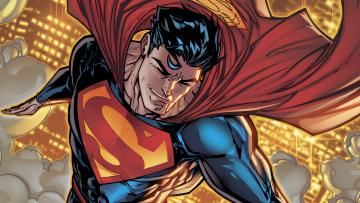 обоя рисованное, комиксы, superman