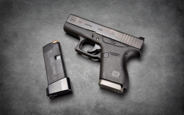 обоя оружие, пистолеты, пистолет, самозарядный, glock, 43, австрийский