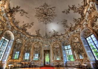 Картинка интерьер дворцы музеи люстра позолота зал роспись