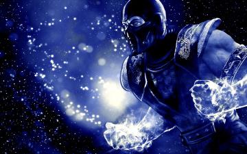 Картинка mortal kombat видео игры vs dc universe sub-zero саб-зиро