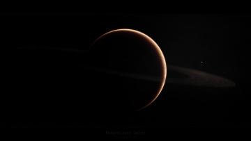 Картинка космос арт планета вселенная