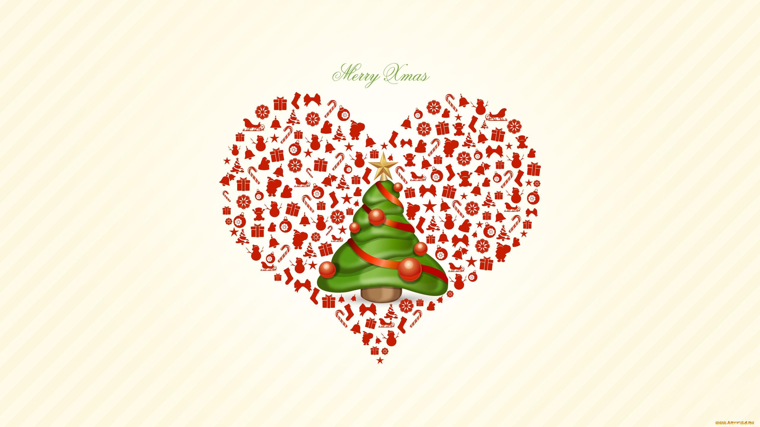 Картинки, новогодние открытки о любви