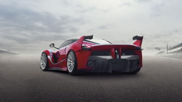 Картинка автомобили ferrari fxx k 2015г красный
