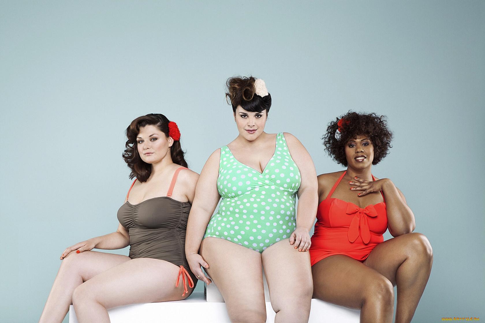 Только женщины толстые голые, Голые жирные бабы - фото жирных женщин и девушек 15 фотография
