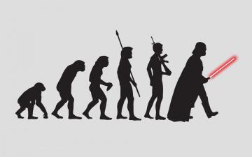 Картинка юмор приколы человек эволюция силуэты