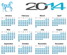 обоя календари, -другое, цифры