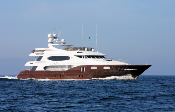 Картинка superyacht+glaze корабли Яхты роскошная море яхта