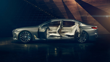 обоя bmw vision future luxury concept 2014, автомобили, bmw, concept, luxury, future, vision, 2014
