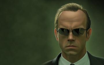 Картинка матрица рисованные кино matrix агент смит