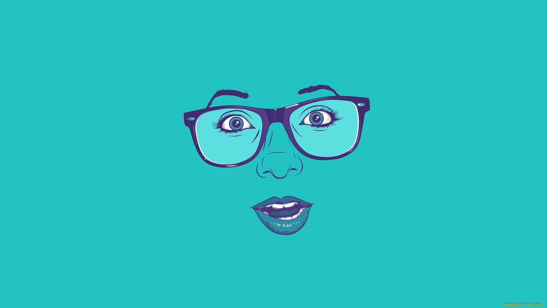 лицо гримаса очки face grimace glasses загрузить