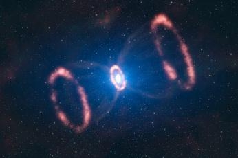 Картинка космос галактики туманности пульсар сверхновая звезды туманность