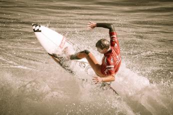 Картинка спорт серфинг серфер доска волна океан