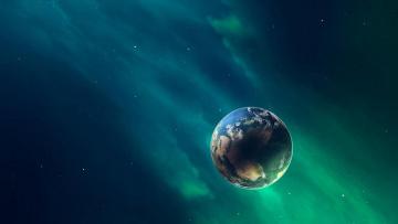 обоя космос, земля, вселенная, планеты, звёзды, созвездия