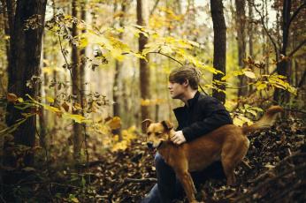 Картинка мужчины -+unsort лес парень осень