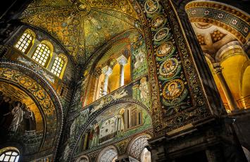 обоя интерьер, дворцы,  музеи, живопись, арки