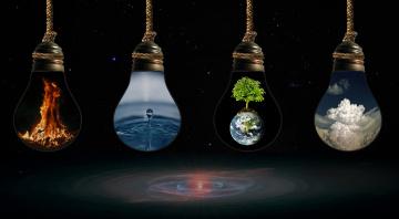 Картинка разное компьютерный+дизайн дизайн арт огонь воздух земля стихия вода