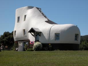 Картинка города -+здания +дома сша пенсильвания дом-ботинок