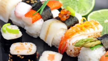 Картинка еда рыба +морепродукты +суши +роллы кухня японская роллы суши