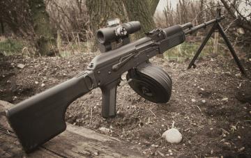 обоя оружие, пулемёты, оптика, калашникова, пулемет, ручной, рпк-74