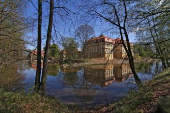 Картинка города -+пейзажи особняк парк