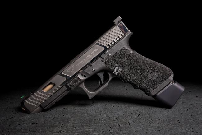 Обои картинки фото оружие, пистолеты, taran, tactical, фон, пистолет, g34