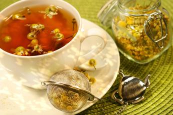 Картинка еда напитки +Чай ромашковый чай