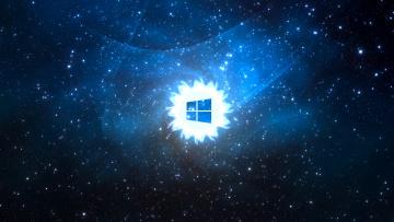 Картинка компьютеры windows+8 фон логотип