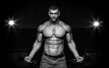 обоя спорт, фитнес, abs, muscles, fitness