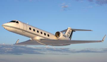 Картинка gulfstream g450 авиация пассажирские самолёты средний самолёт бизнес-класс сша турбовентиляторный двухмоторный
