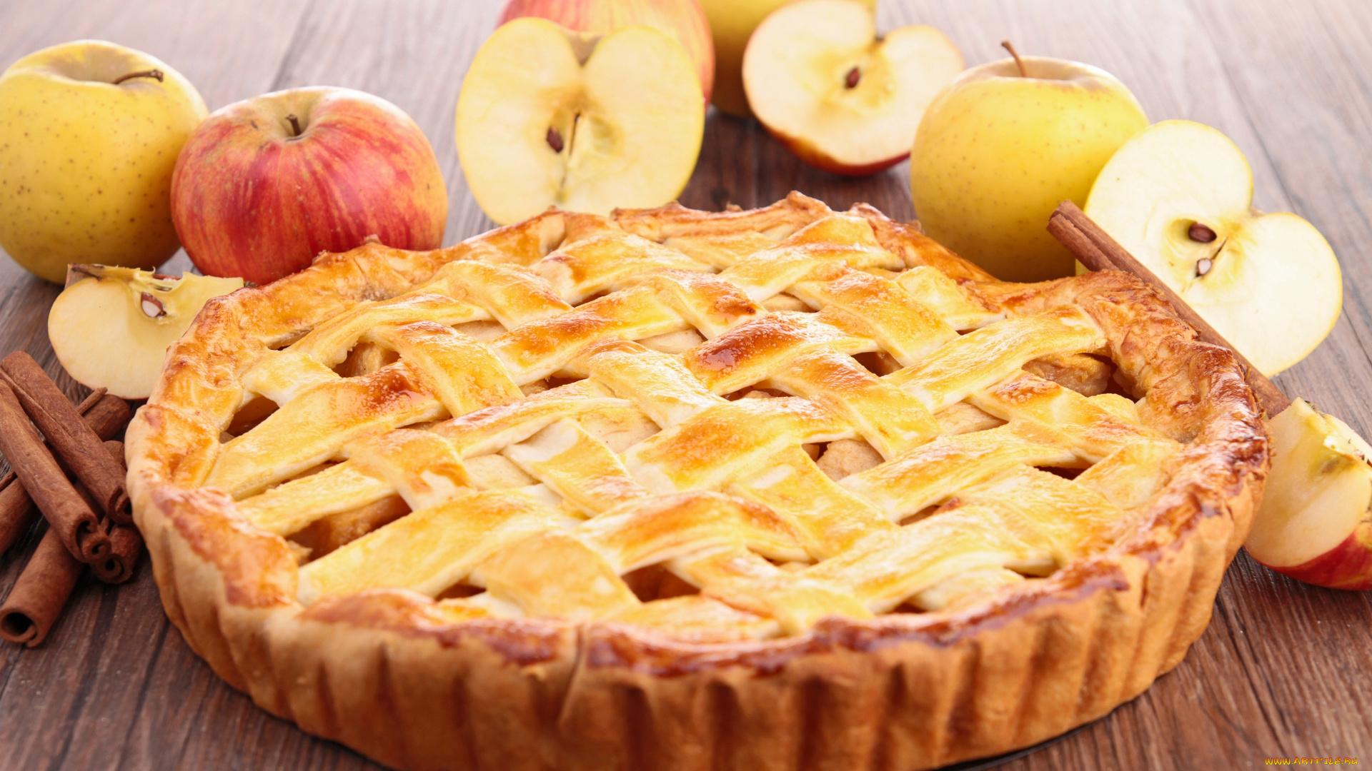 еда пирог яблочный шарлотка food pie Apple Charlotte бесплатно