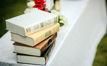 обоя разное, канцелярия,  книги, стопка, книги