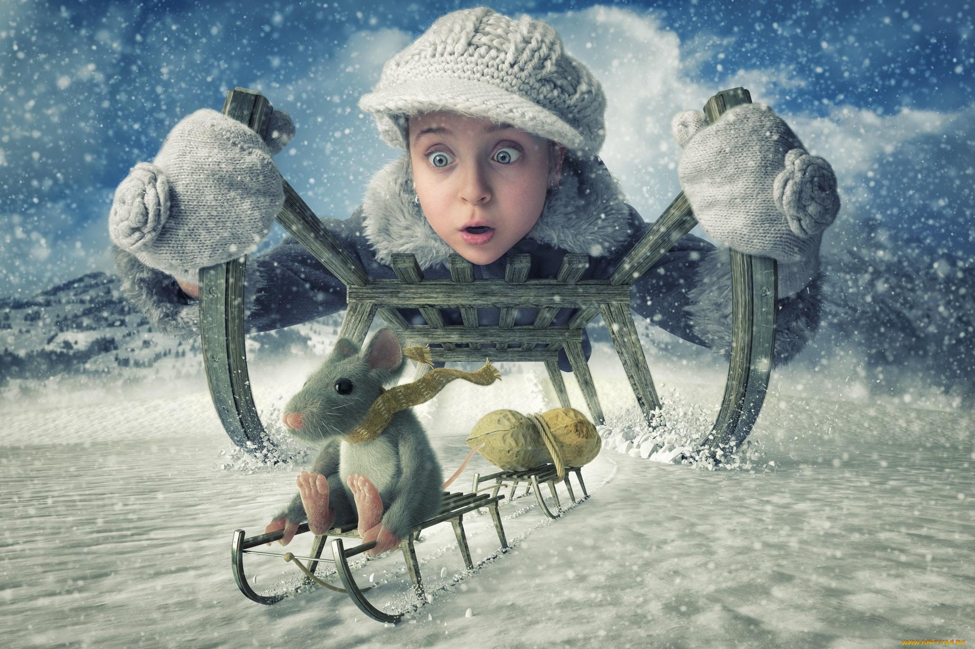 Картинках, картинки девушка зимой смешные