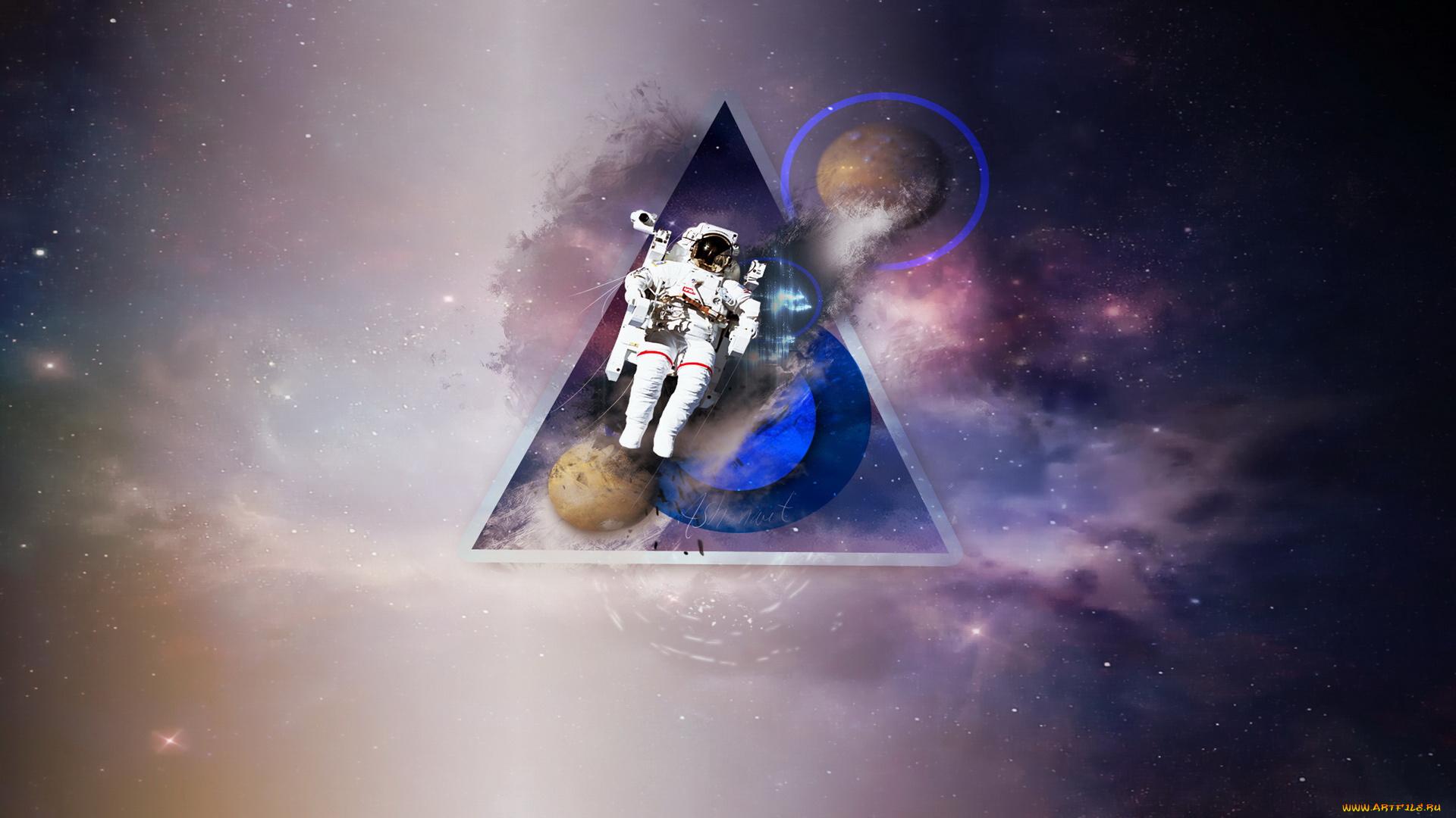 космос трава космонавт space grass astronaut  № 3317191 загрузить