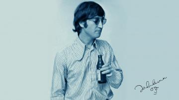 Картинка the beatles музыка джон леннон певец гитарист композитор актёр поэт пианист