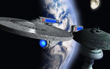 Картинка космос арт космические корабли звезды планеты
