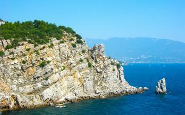 Картинка Ялта природа побережье море горы