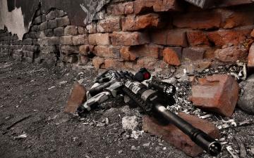 Картинка оружие автоматы стена автомат