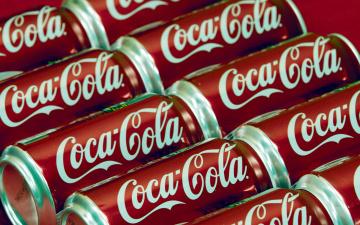 обоя бренды, coca-cola, банки, фирменные