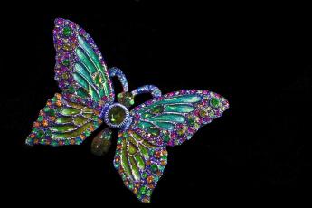 обоя разное, украшения,  аксессуары,  веера, брошь, бабочка
