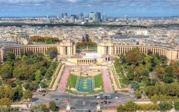 обоя города, париж , франция, город, париж