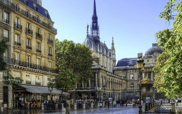 обоя города, париж , франция, париж, город