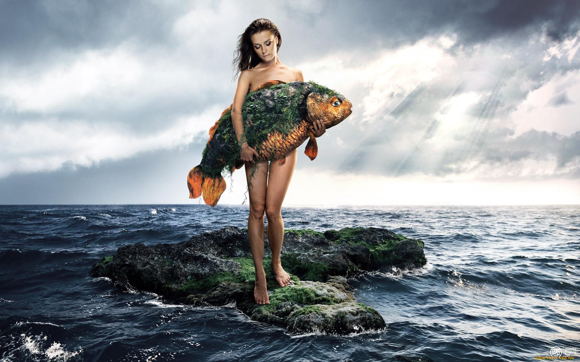 К чему снится беременной женщине рыба 55