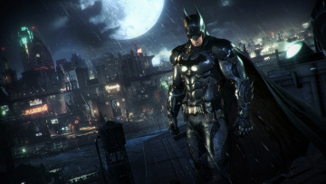обоя видео игры, batman,  arkham knight, arkham, knight, action, боевик, бэтмен